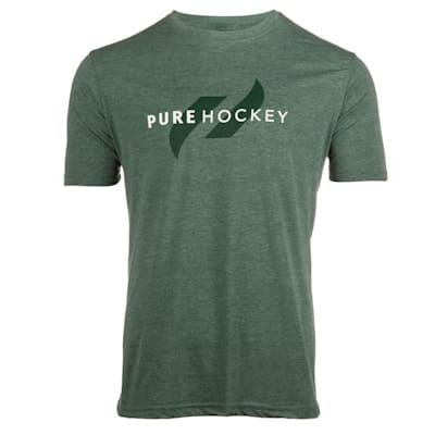 (Pure Hockey Classic Tee 2.0 - Pine - Adult)