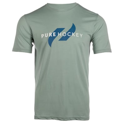 (Pure Hockey Classic Tee 2.0 - Green - Adult)
