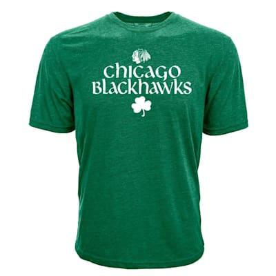 (Levelwear Chicago Blackhawks St. Patrick's Day Tee Shirt - Adult)