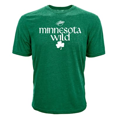 (Levelwear Minnesota Wild St. Patrick's Day Tee Shirt - Adult)
