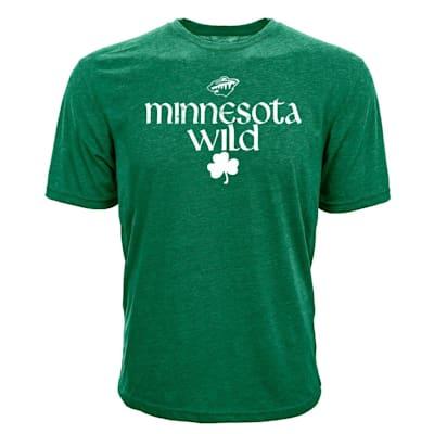 (Levelwear Minnesota Wild St. Patrick's Day Tee Shirt - Adult)