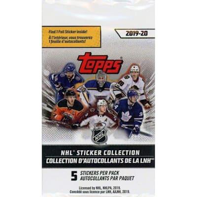 (Topps 2019/2020 NHL Sticker Pack)