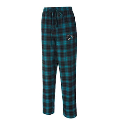 (Parkway Flannel Pant - San Jose Sharks - Adult)