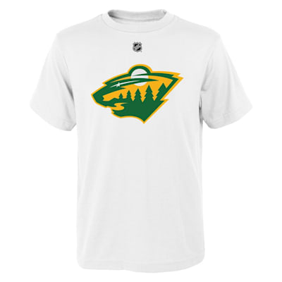 (Adidas Minnesota Wild Reverse Retro Short Sleeve Tee - Youth)