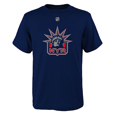 (Adidas New York Rangers Reverse Retro Short Sleeve Tee - Youth)