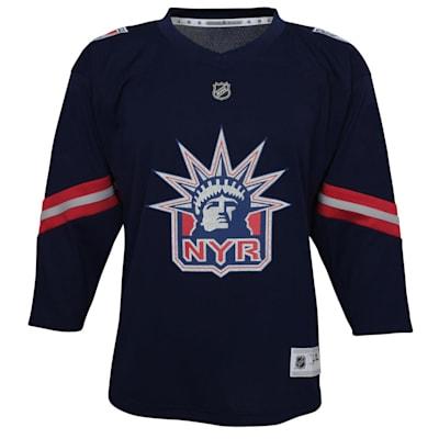 (Adidas New York Rangers Reverse Retro Replica Jersey - Youth)