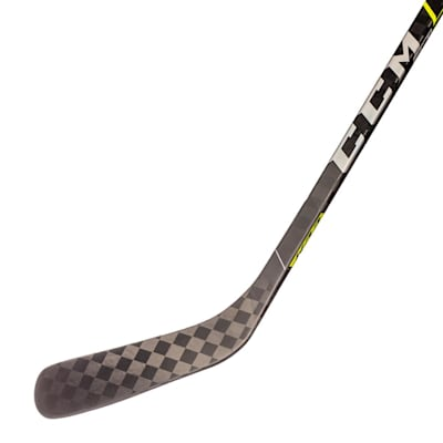 (CCM Super Tacks AS3 Pro Grip Composite Hockey Stick - Junior)