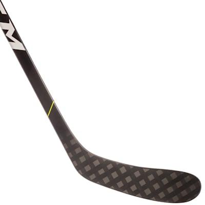 (CCM Super Tacks 9380 Grip Composite Hockey Stick - Junior)