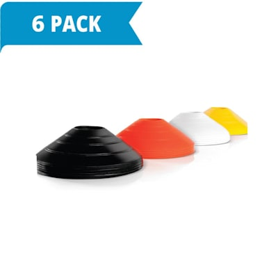 (2 Inch Agility Cones - 6 Pack (120 cones total))
