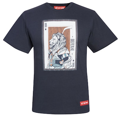 (CCM Playing Card Tri-Blend Short Sleeve Tee Shirt - Adult)