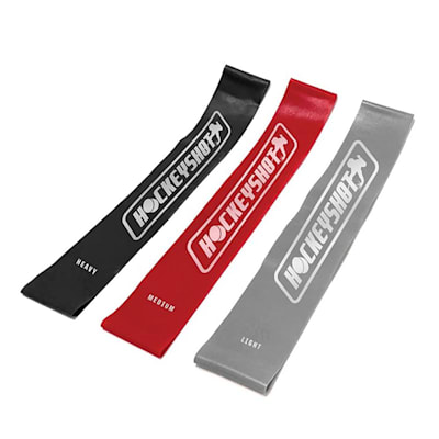 (HockeyShot HS Mini Resistance Bands - 3 Pack)