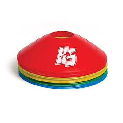 (HockeyShot HS Agility Cones - 20 Pack)