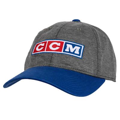 (CCM 3 Block Slouch Adjustable Cap - Adult)