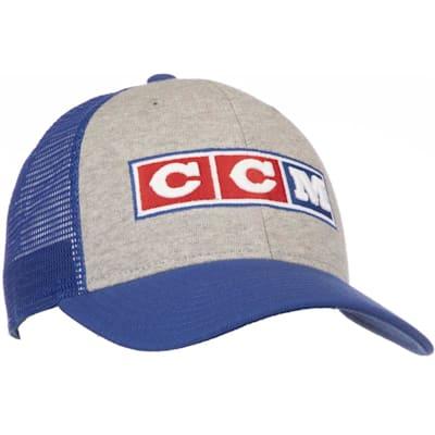 (CCM 3 Block Mesh Adjustable Trucker Cap - Adult)