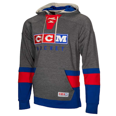 (CCM Classic Jersey Fleece Hoodie - Adult)