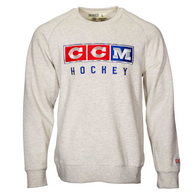 (CCM 3 Block Fleece Crew Neck Sweatshirt - Adult)