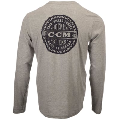 (CCM Heritage Bottle Cap Long Sleeve Tee Shirt - Adult)