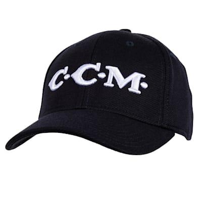 (CCM Vintage Logo Flex Cap - Adult)