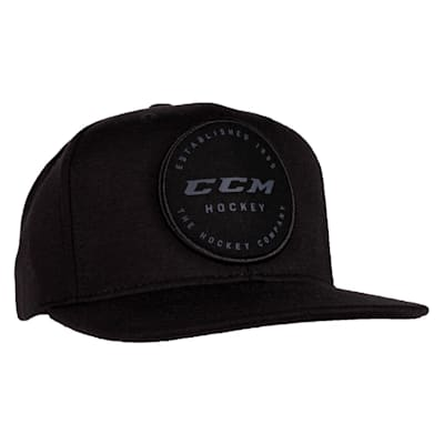 (CCM Go Dark Flat Brim Adjustable Cap - Adult)