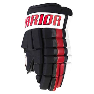 Black/Red/White (Warrior Franchise Gloves - Junior)