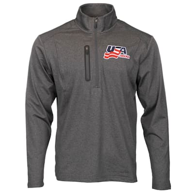 (USA Hockey 1/2 Zip Pullover - Adult)