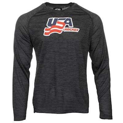 (USA Hockey Performance Long Sleeve Tee - Adult)