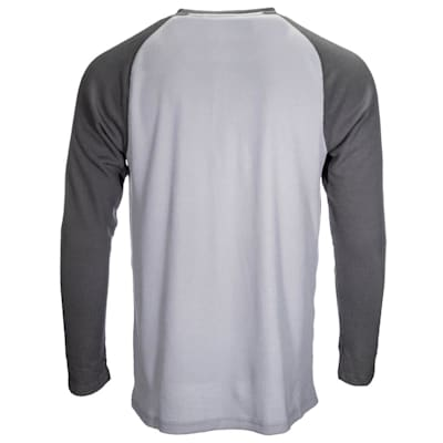 (Bauer Long Sleeve Henley - Adult)