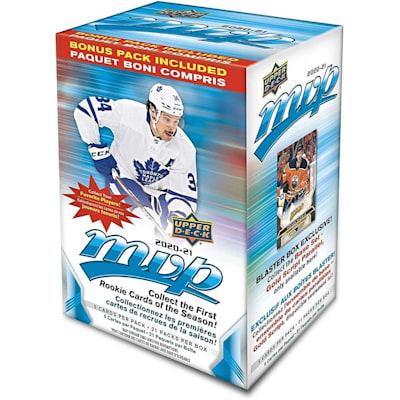 (UpperDeck 2020-2021 NHL MVP Trading Cards Blaster Box)