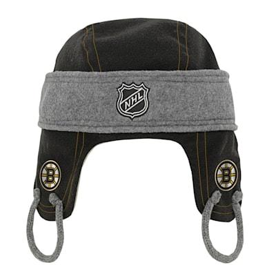 (Adidas Kids Fleece Hockey Helmet – Boston Bruins - Youth)
