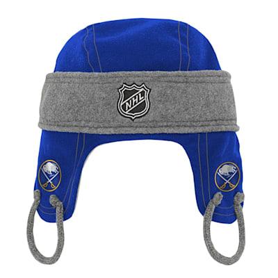 (Adidas Kids Fleece Hockey Helmet – Buffalo Sabres - Youth)