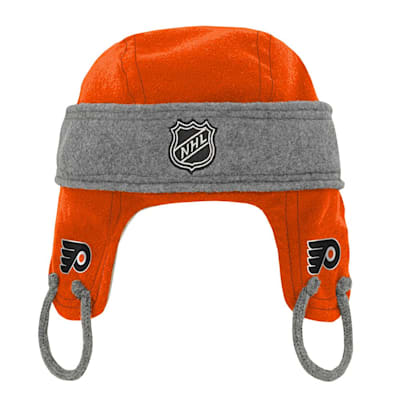 (Adidas Kids Fleece Hockey Helmet – Philadelphia Flyers - Youth)