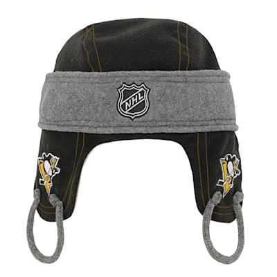 (Adidas Kids Fleece Hockey Helmet – Pittsburgh Penguins - Youth)
