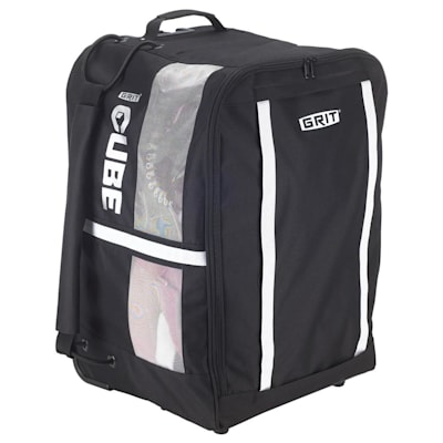 (Grit Cube Wheeled Hockey Bag - 26 Inch - Junior)