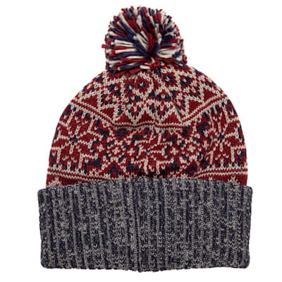 (CCM Holiday Pom Knit Hat - Adult)