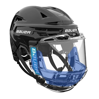 *blue color to show depth (Bauer Concept III Splash Guard 2-Pack - Senior)