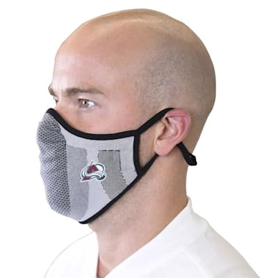 (Levelwear Guard 3 Face Mask - Colorado Avalanche - Youth)