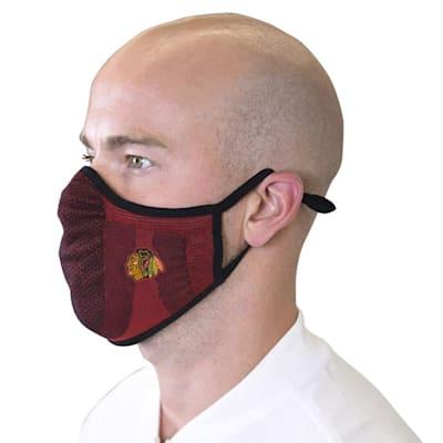 (Levelwear Guard 3 Face Mask- Chicago Blackhawks - Youth)
