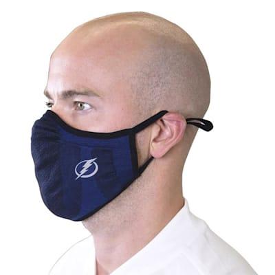 (Levelwear Guard 3 Face Mask- Tampa Bay Lightning - Youth)