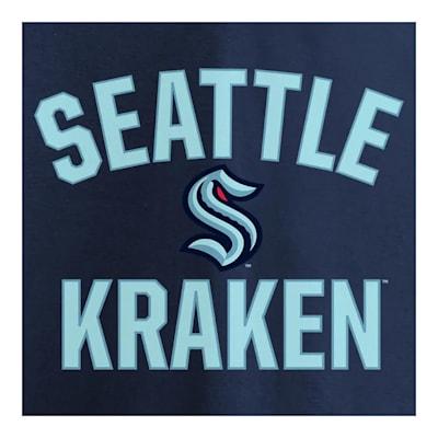 (Fanatics Arch Long Sleeve T-Shirt - Seattle Kraken - Adult)
