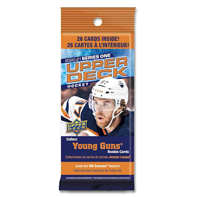 (UpperDeck 2020-2021 NHL Series One Trading Cards Fat Pack)