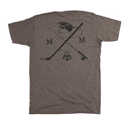 (March & Mill Co. The Fly Rod Stix Short Sleeve Tee Shirt - Adult)