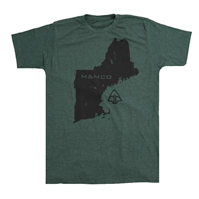 (March & Mill Co. The New Englander Short Sleeve Tee Shirt - Adult)