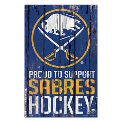 (Wincraft NHL Wood Sign - Buffalo Sabres)