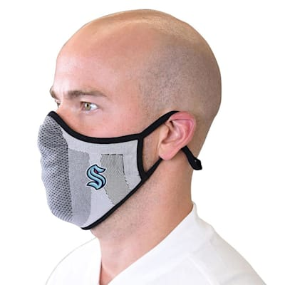 (Levelwear Guard 3 Face Mask - Seattle Kraken - Youth)