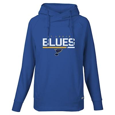 (Levelwear Cut Off Frolic Hoodie - St. Louis Blues - Womens)