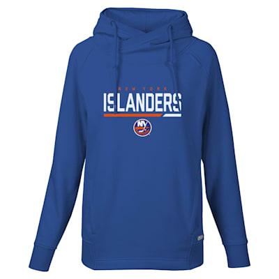 (Levelwear Cut Off Frolic Women's Hoodie - New York Islanders - Womens)