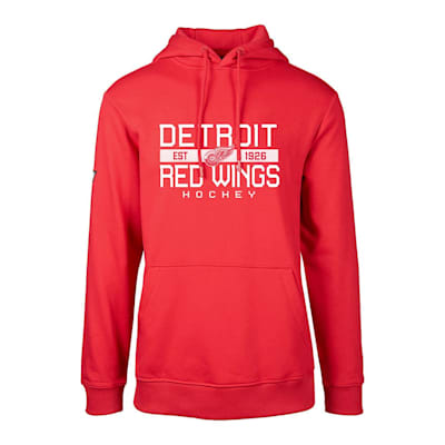 (Levelwear Dugout Podium Hoodie - Detroit Red Wings - Adult)