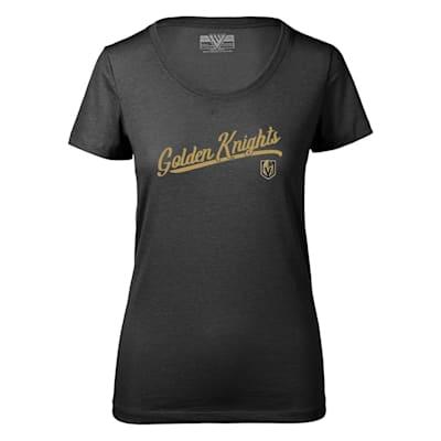 (Levelwear First Edition Daily Short Sleeve Tee Shirt - Vegas Golden Knights - Womens)