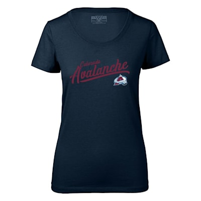 (Levelwear First Edition Daily Short Sleeve Tee Shirt - Colorado Avalanche - Womens)