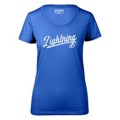 (Levelwear First Edition Daily Short Sleeve Tee Shirt - Tampa Bay Lightning - Womens)
